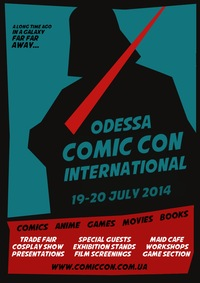 Odessa Comic Con International 2014